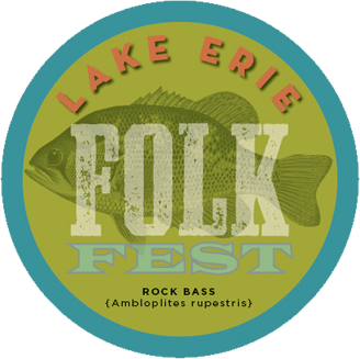 Lake Erie Folk Fest 2018 logo